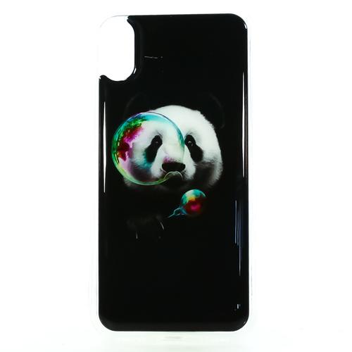Накладка силиконовая IceTwice iPhone X Панда с пузырем №1201