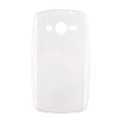 Накладка силиконовая Goodcom Ultra slim на Samsung Galaxy Core 2 White
