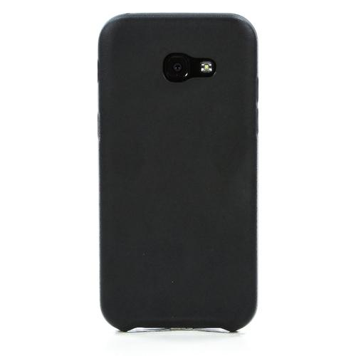 Накладка кожаная G-Case Slim Premium для Samsung Galaxy A5 (2017) SM-A520F Black