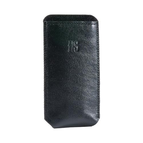 Сумочка POCKET р56 кожаная черная фото