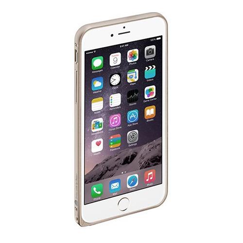Бампер Deppa Alum для iPhone 6 Plus и плёнка Silver