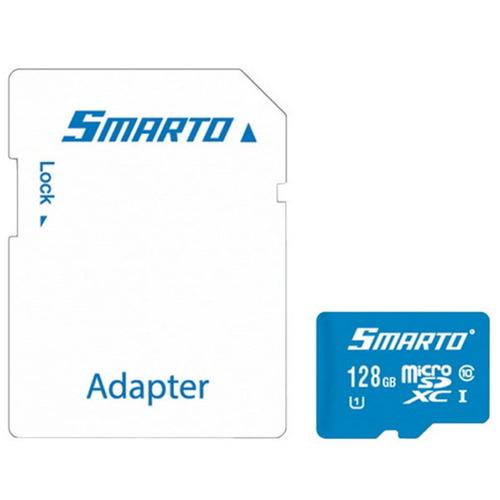 Карта памяти на 128 Гб Smarto microSD (class 10)