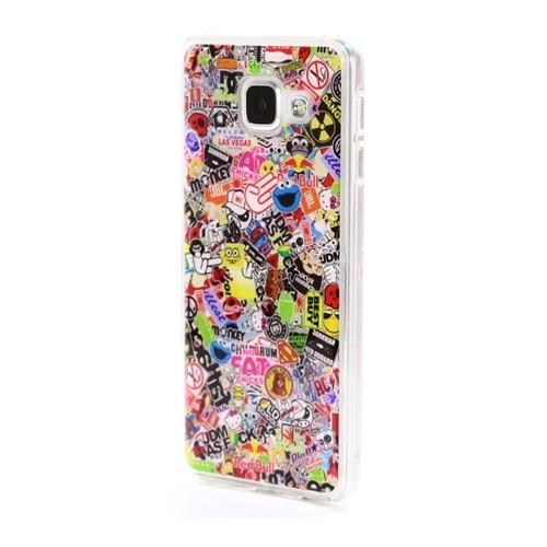 Накладка силиконовая IceTwice Samsung Galaxy A3 (2016) StickerBomb №524