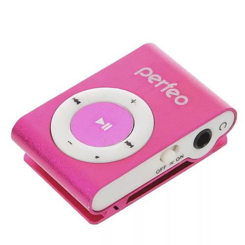 Плеер Mp3 Perfeo Titanium Lite Pink