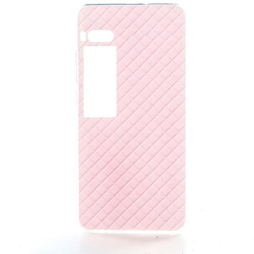 Накладка силиконовая Goodcase Meizu Pro 7 Розовые вафли