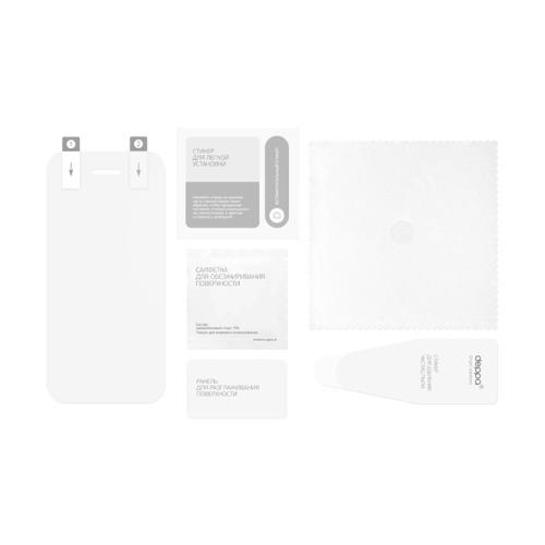 Чехол - книжка для LG G3 Deppa Wallet Cover фиолетовая и защитная пленка LG G3 фото 3