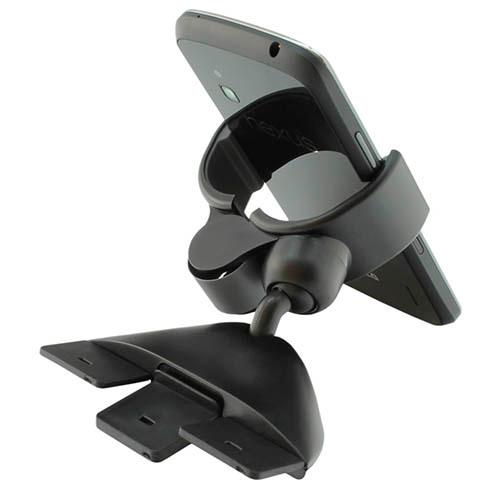 """Автомобильный держатель с крепежом в CD проигрыватель Ppyple CD-Clip5 (3.5""""-5.5"""") Black"""