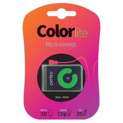 Плеер Mp3 Perfeo Color Lite Green