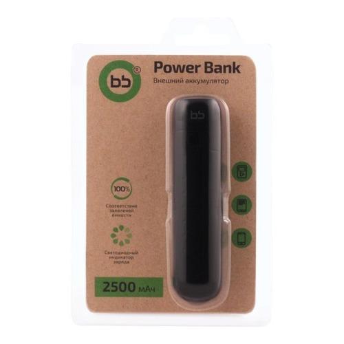 Внешний аккумулятор BB 001-001 2500 mAh Black фото 3