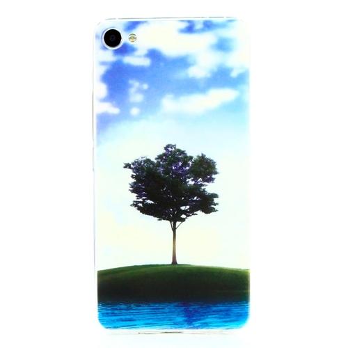 Накладка силиконовая Goodcase Meizu U20 Одинокое дерево