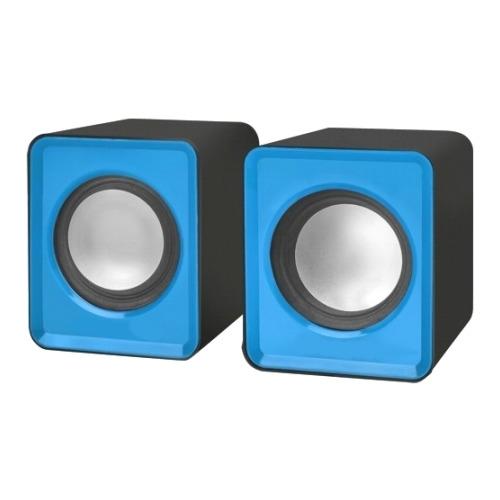 Колонки CBR CMS 90 3 Вт 2.0 Blue