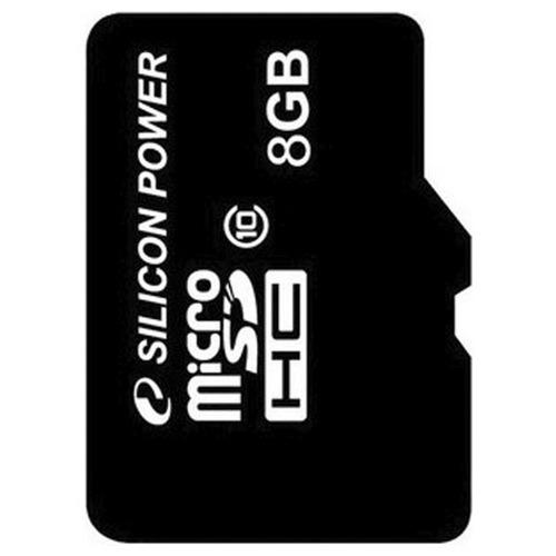 Карта памяти на 8 Гб Silicon Power microSD (class 10)