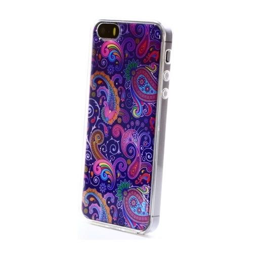 Накладка силиконовая IceTwice iPhone 5/5S/SE Узор №1036