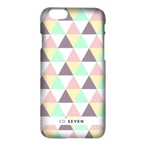 Накладка пластиковая So Seven iPhone 7 / iPhone 8 Grpahic Pastel Triangle