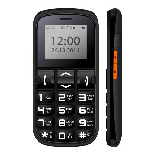 Телефон Vertex C306, Black