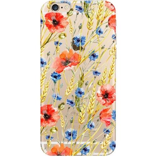 Накладка пластиковая Deppa Art Case iPhone 6/6S Flowers Пшеница
