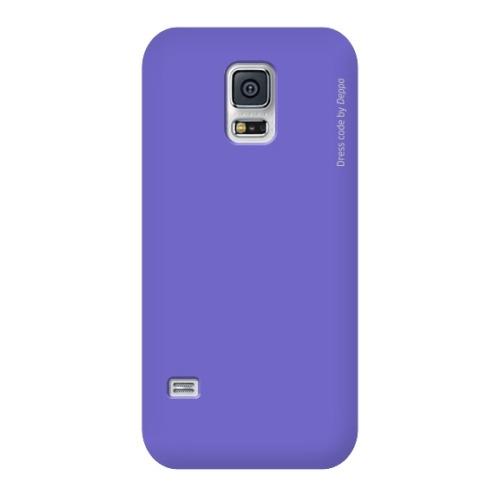 Накладка пластиковая Deppa Air Case Samsung G800 Galaxy S5mini Violet