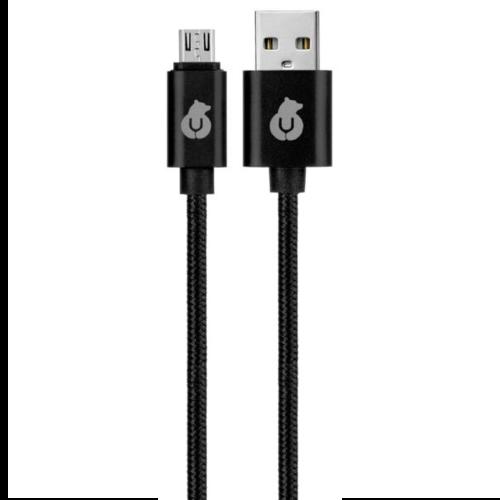 USB кабель uBear Cord microUSB Black фото