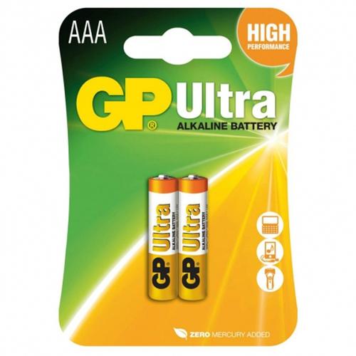 Батарея GP Ultra AAA (блистер 2шт.)