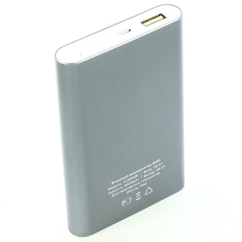 Внешний аккумулятор Vertex X'traLife 8000mAh Silver фото 2