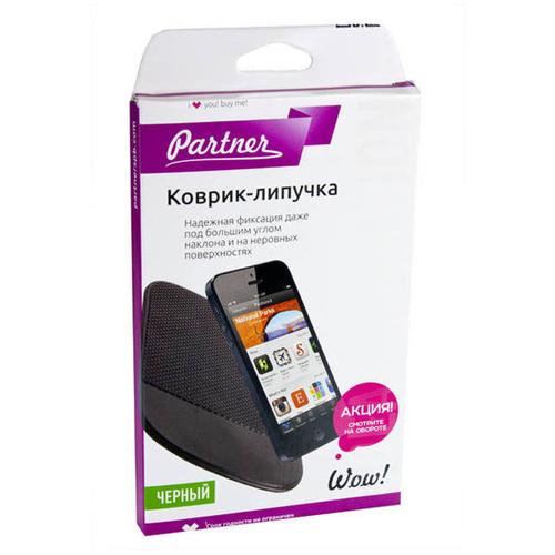 Держатель в авто Partner коврик-липучка 18х12 XL Black