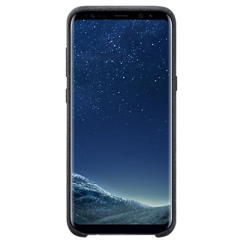 Накладка Alcantara Samsung Cover Galaxy S8+ (EF-XG955ASEGRU) Dark Gray