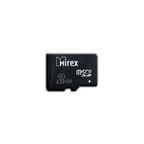Карта памяти Mirex microSD 2Gb (class 4)