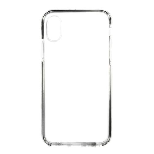 Накладка силиконовая Platina Frame Iphone X Black