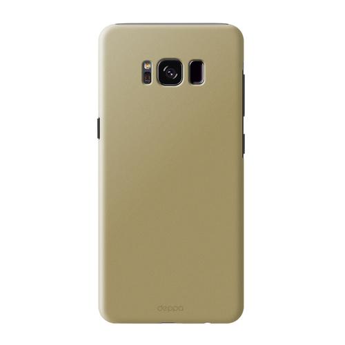 Накладка пластиковая Deppa Air Case Samsung Galaxy S8 Gold