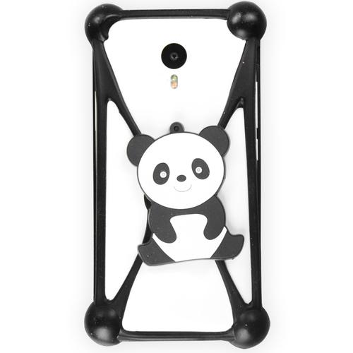 """Бампер Partner силиконовый универсальный 3.5-5.5"""" Panda #19"""