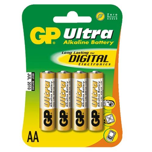 Батарея GP Ultra LR6 AA (блистер 4шт.)
