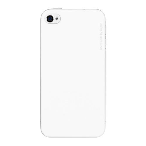 Накладка пластиковая Deppa Sky Case iPhone 4/4S 0.33mm White