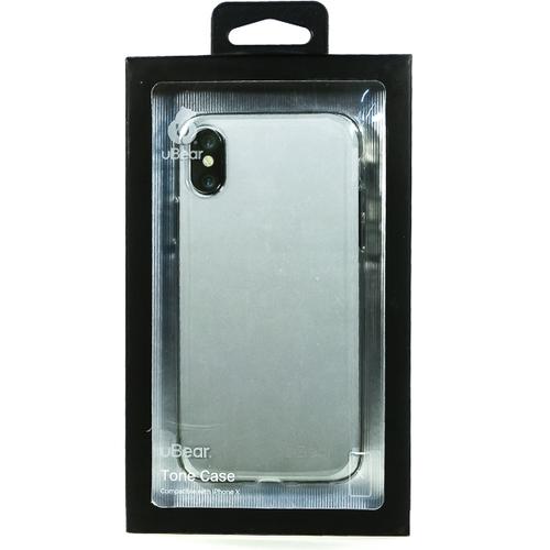 Накладка силиконовая uBear Laser Tone Case iPhone X Clear