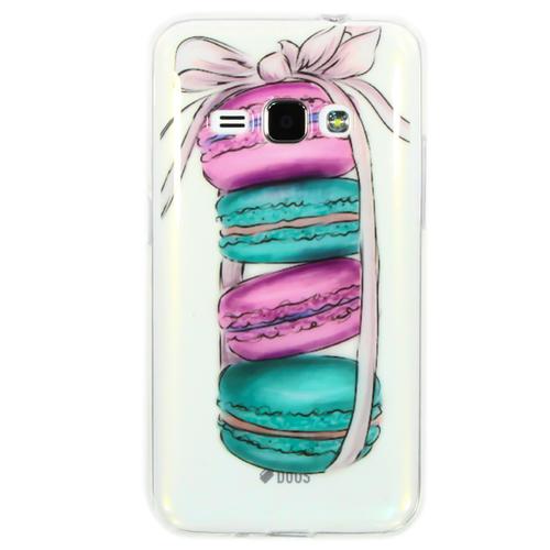 Накладка силиконовая Goodcase Samsung J1 (2016) Macarons