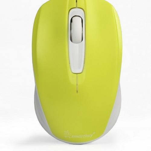 Мышь SmartBuy 331 (SBM-331AG-LW) беспроводная Yellow White