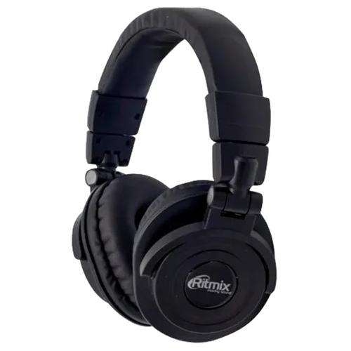Bluetooth стереогарнитура Ritmix RH-489BTH  накладная Black