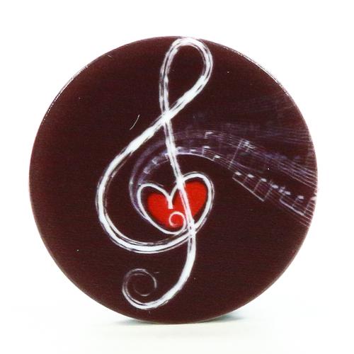 Попсокет для телефона Скрипичный ключ (S28), Goodcom