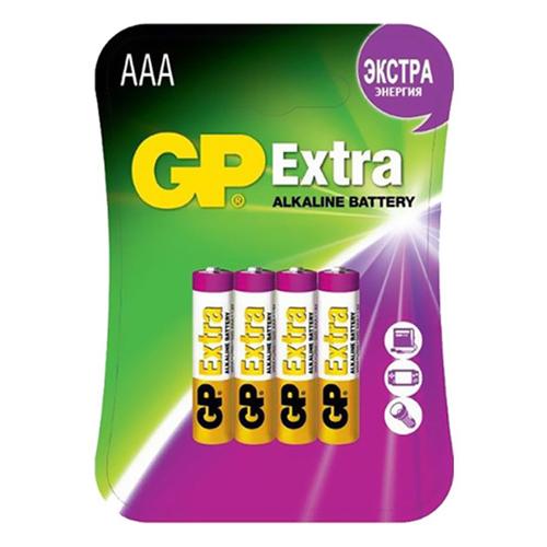 Батарея GP Extra AAA (блистер 4шт.) фото