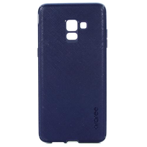 Накладка пластиковая Araree Samsung Galaxy A8+ (2018) Airfit Prime Dark Blue (GP-A730KDCPBIB)