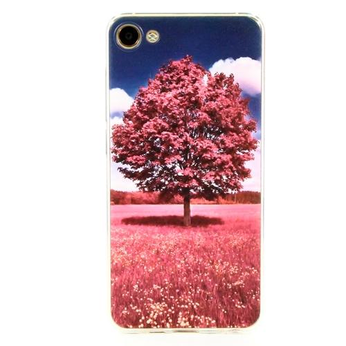 Накладка силиконовая Goodcase Meizu U10 Rose Tree