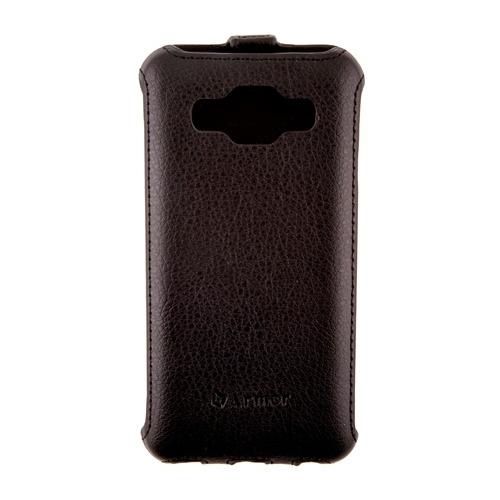 Чехол-флип Samsung J2, Armor, черный