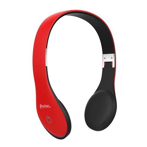 Bluetooth стереогарнитура Partner Soul Red