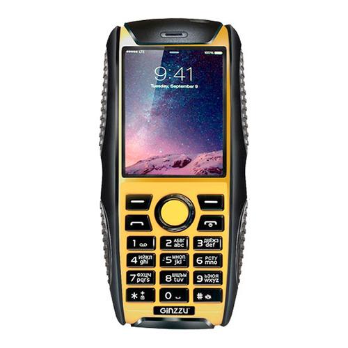 Телефон Ginzzu R41D, Black Orange