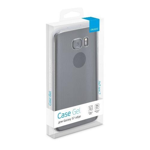 Накладка силиконовая Deppa Gel Case Samsung Galaxy S7 Edge Clear фото 3