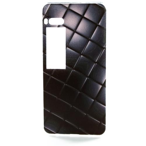 Накладка силиконовая Goodcase Meizu Pro 7 Стеганная кожа