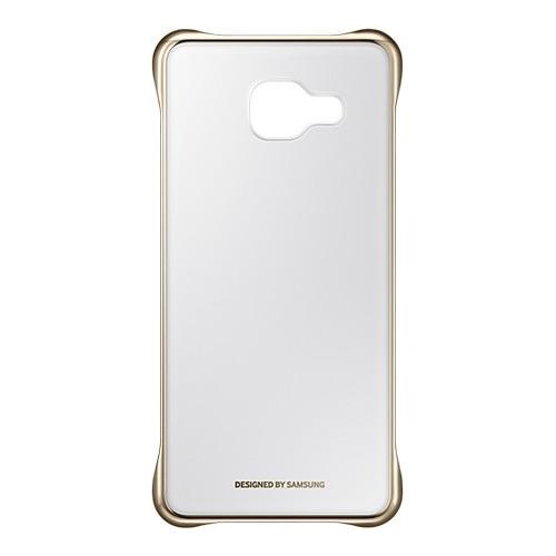 Накладка пластиковая Samsung Clear Galaxy A3 (2016) EF-QA310CFEGRU Gold