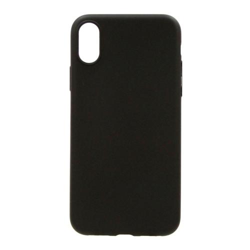 Накладка силиконовая Anycase Iphone X Matt Black