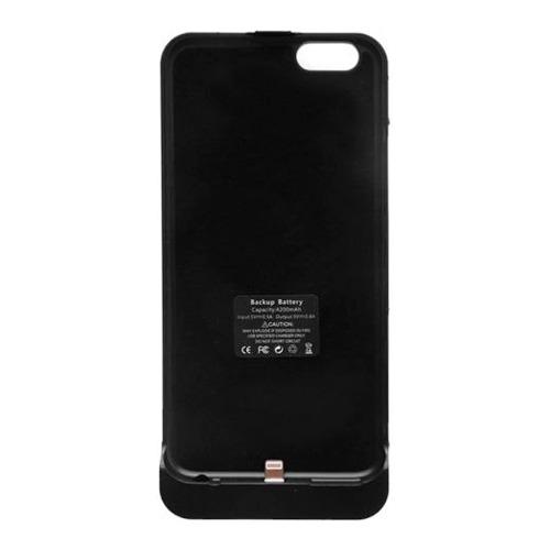 Накладка-аккумулятор для iPhone 6 Slim backup battery, Wizzy, 2800 mAh, Black