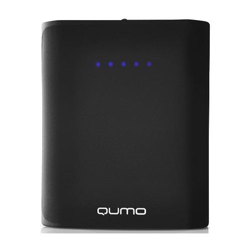 Внешний аккумулятор Qumo PowerAid 6600 mAh Black
