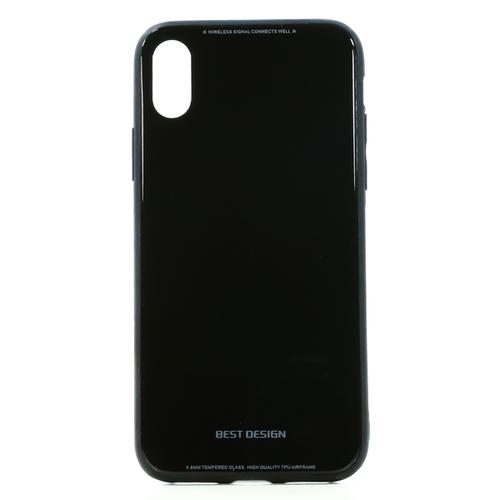 Накладка пластиковая TFN iPhone X/iPhone XS Black